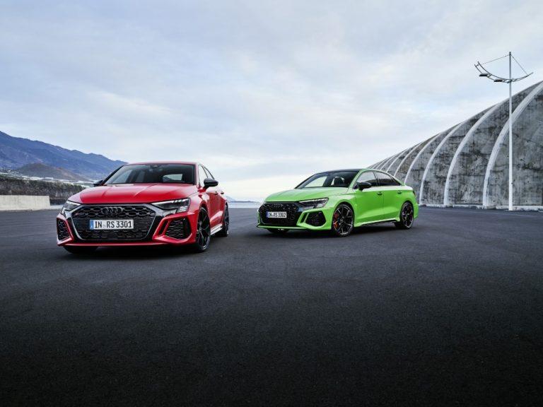 Uusi Audi RS 3 tarjoaa urheilullisuutta myös arkikäyttöön