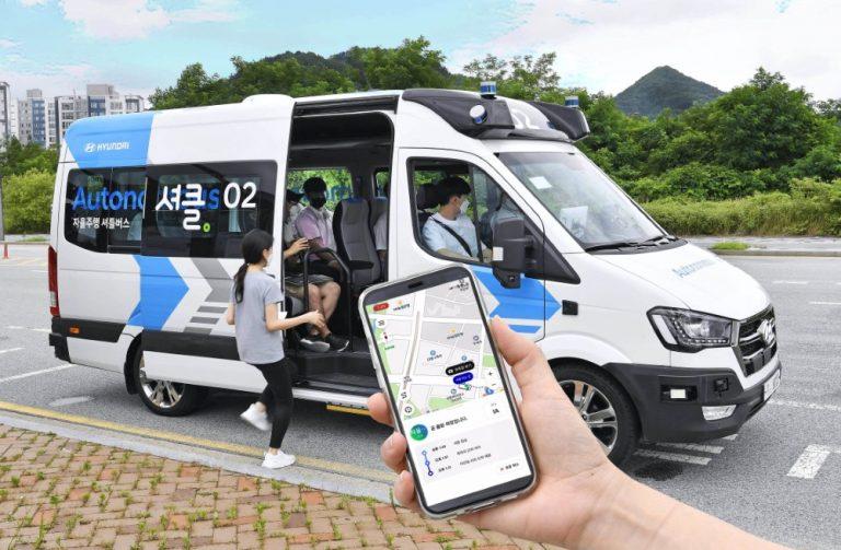 Hyundai testaa autonomisesti liikkuvaa kuljetuspalvelua