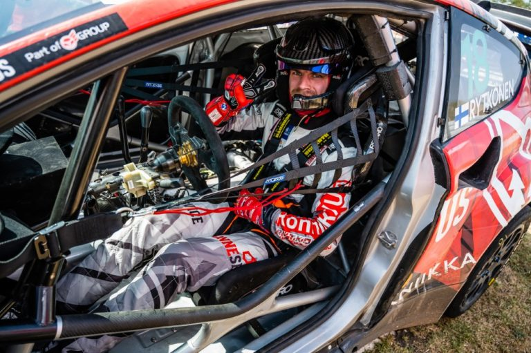 Rallicross: Juha Rytköselle jäi hyvä mieli Barcelonan MM-rallicrossista