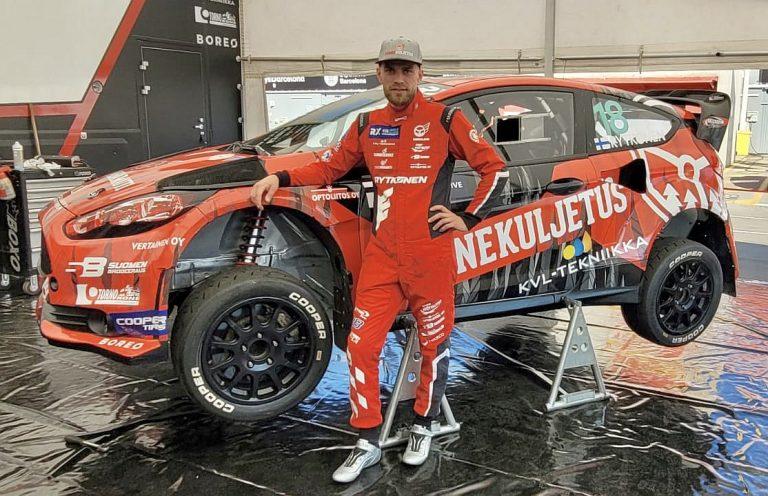 Rallicross: Juha Rytkönen tavoittelee finaalipaikkaa MM-sarjan Belgian kisassa