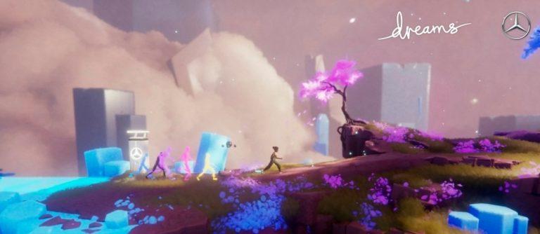 Mercedes-Benzin tulevaisuusvisiot muuttuvat tosiksi PlayStationin pelimaailmassa