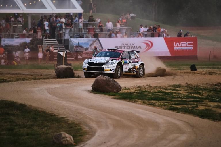 WRC: Mikko Heikkilä ajoi Viron MM-rallissa palkintopallille