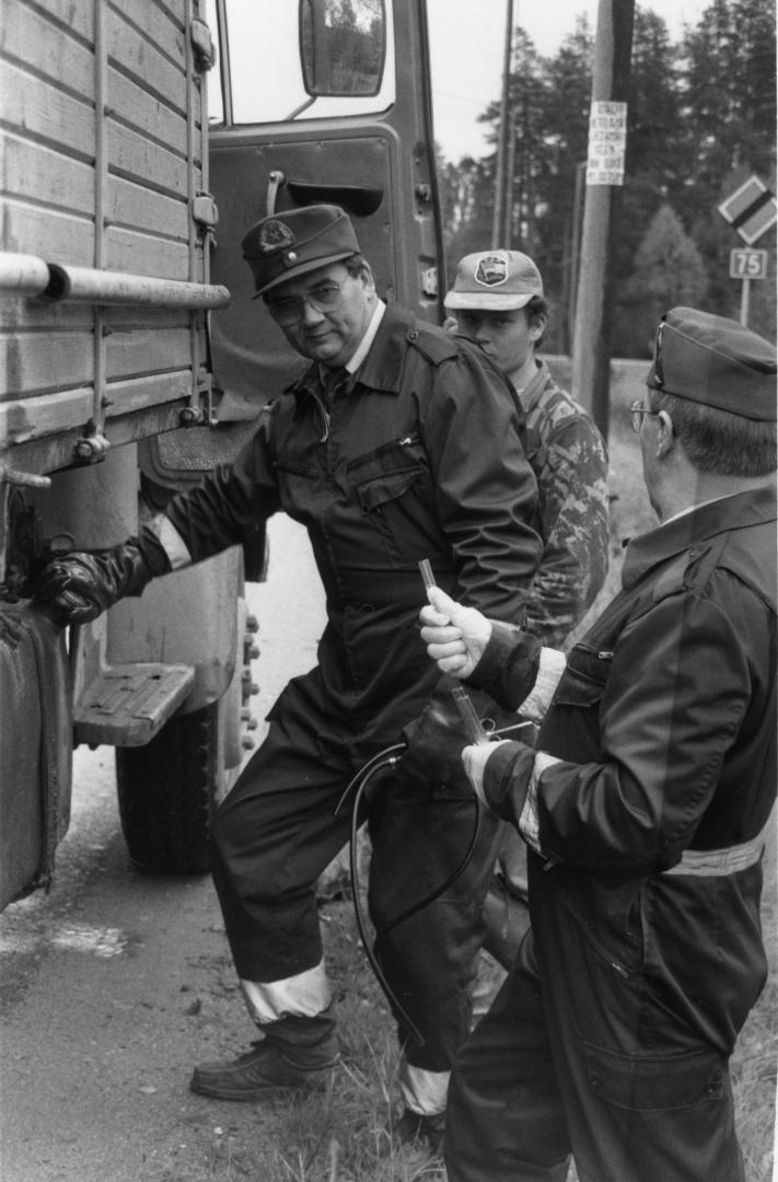 Päivän poliisikuva: Poliisi ja tulli tarkkailivat polttoaineita