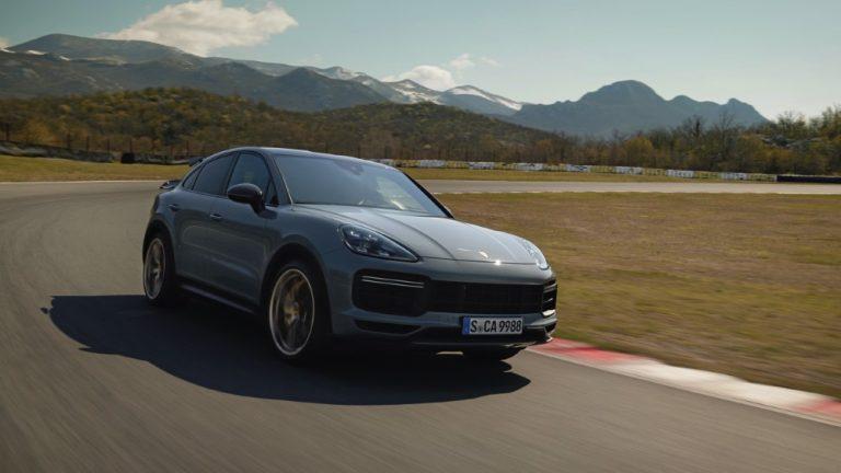 Porsche esittelee uuden, urheilullisen Cayenne Turbo GT:n