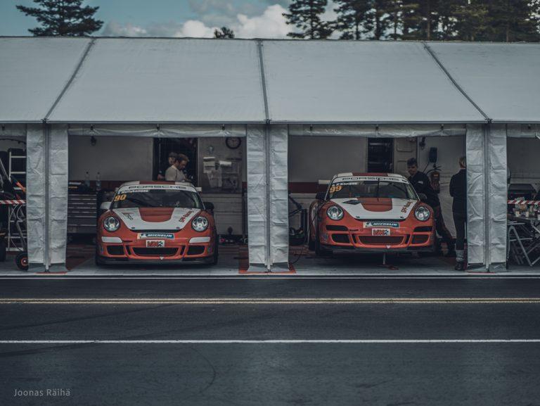 Porsche Sprint Challenge NEZ-kausi jatkuu Botniaringillä