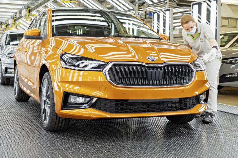 Uuden Škoda Fabian tuotanto käynnistyi