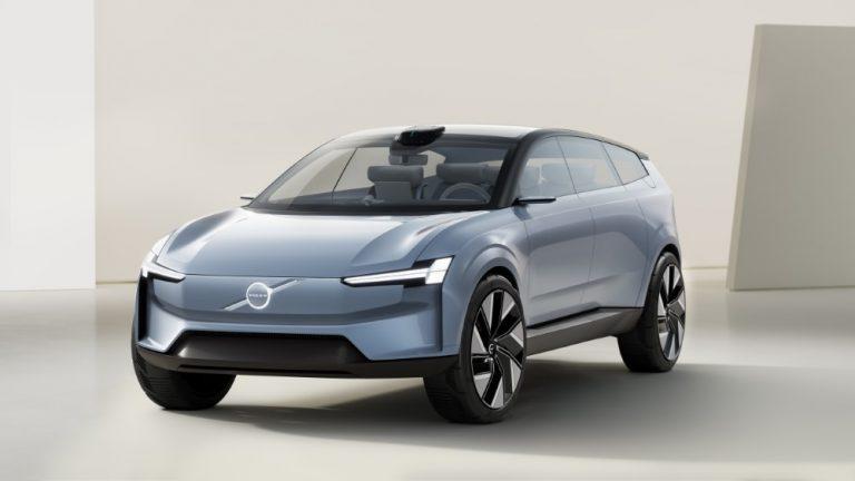 Tältä näyttää Volvo Carsin sähköinen tulevaisuus!