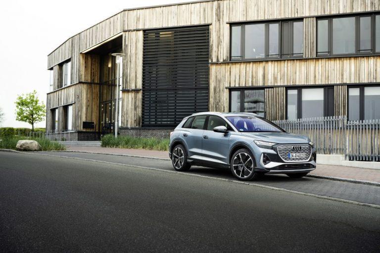 Sähköiseen Audi Q4 e-tron -mallisarjaan kaksi uutta versiota