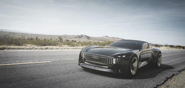 Audi skysphere -konseptiauto on luksusluokan täyssähköinen roadster