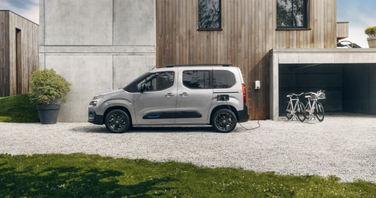 Citroën ë-Berlingon myynti on alkanut