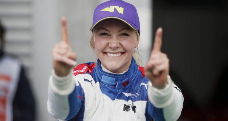 Naisten formulasarja: Emma Kimiläinen ajoi Belgian kisan voittoon