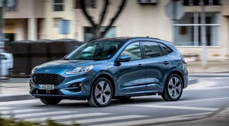 Ford Kugan lataushybridi on Euroopan myydyin ladattava hybridimalli