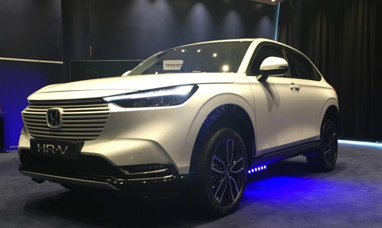 Uusi Honda HR-V käväisi Suomessa