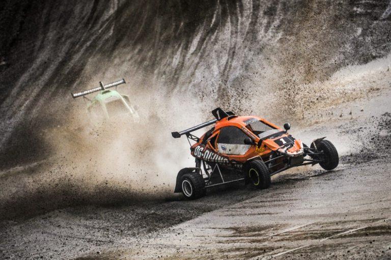 Jami Kalliomäki ajoi crosskartin Xtrem-luokan Suomen mestariksi