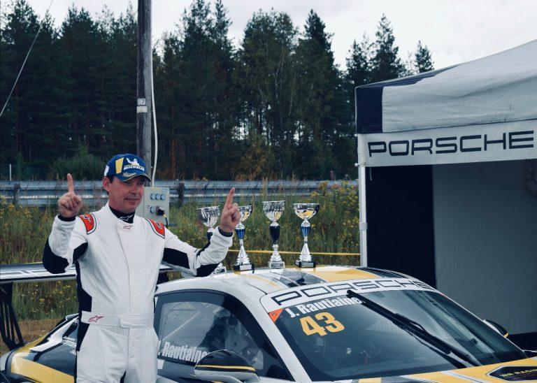 Rautiainen hallitsi Porsche Sprint Challengen Botniaringin kilpailuja