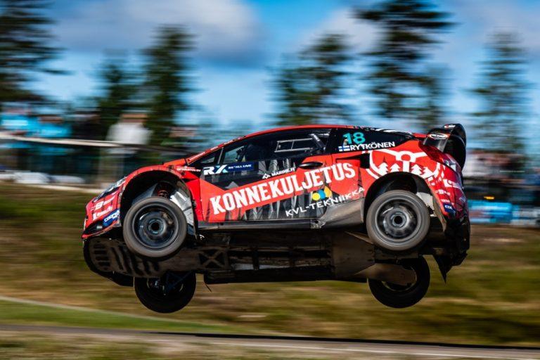 Juha Rytkönen ajoi finaaliin Ruotsin MM-rallicrossissa
