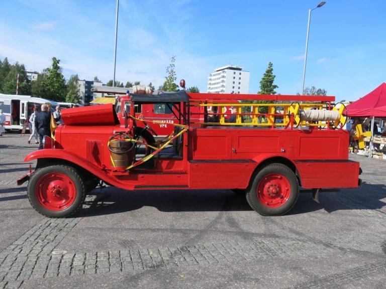 Päivän paloauto: Omavalmiste Chevrolet 1929