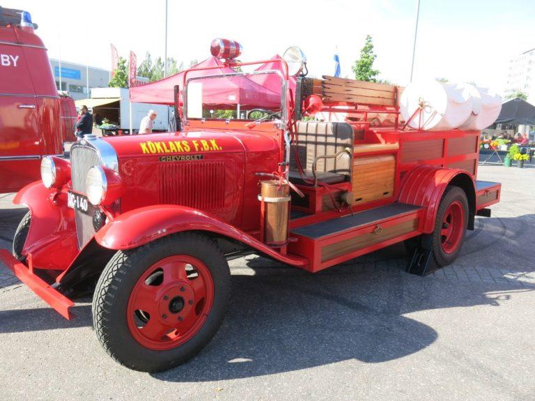 Päivän paloauto: Chevrolet 1933