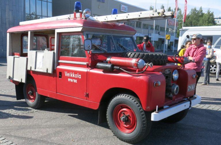 Päivän paloauto: Land Rover 1961