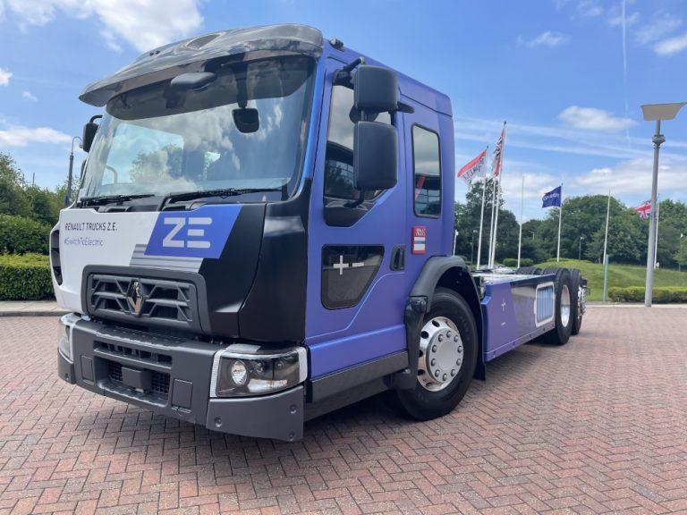 Renault Trucks esittelee uuden sähkökuorma-auton kaupunkikäyttöön