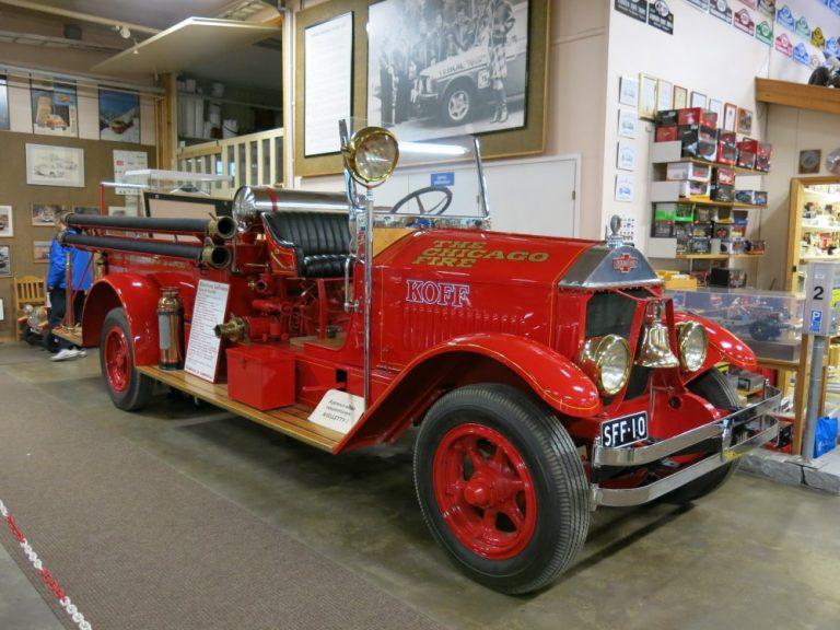 Päivän paloauto: American LaFrance Type 191 1930