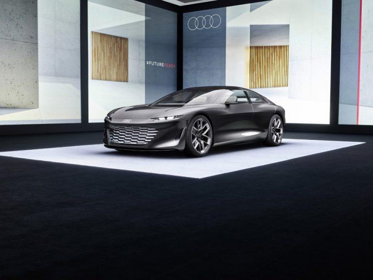 Audi grandsphere -konseptiauto on ylellinen täyssähköinen sedan
