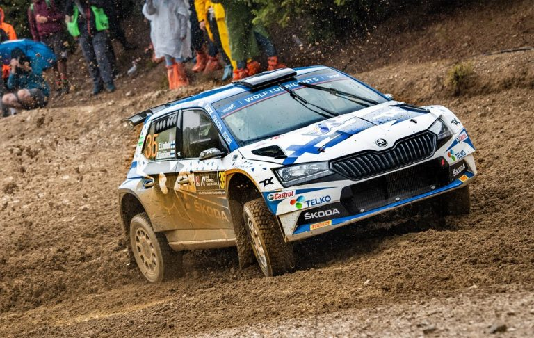 WRC: Emil Lindholmin Akropolis-ralli pilalle erikoisella tavalla