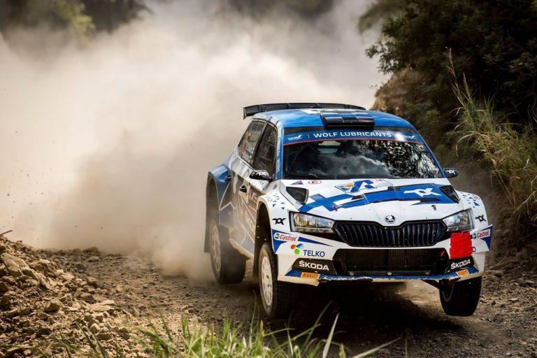 WRC: Emil Lindholm WRC3-luokan neljänneksi Kreikassa