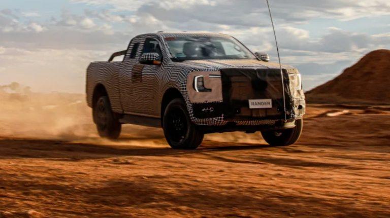 Tässä hieman esimakua tulevasta uudesta Ford Rangerista