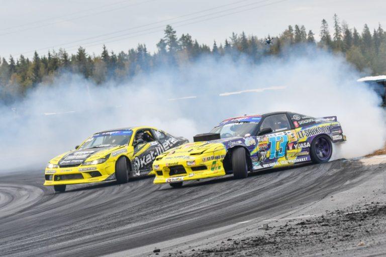 Lauri Heinoselle kolmas driftingin Suomen mestaruus