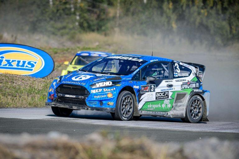 Jere Kalliokoski varmisti Hyvinkäällä rallicrossin Supercar-luokan Suomen mestaruuden