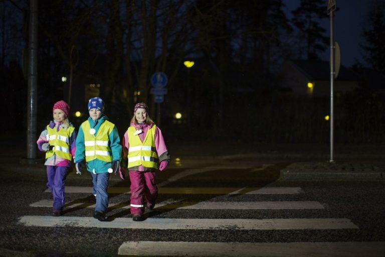 Liikenneturvallisuusviikko keskittyy lapsiin