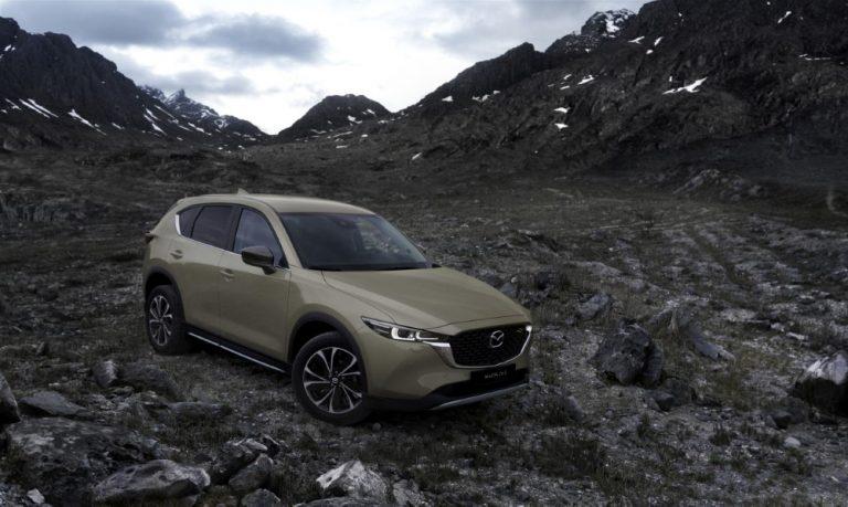 Mazda CX-5 on päivitetty — Suomeen ensi vuoden alussa