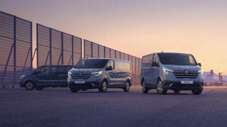 Uudistuneen Renault Trafic -mallin tärkein edistysaskel on uusi ohjaamo