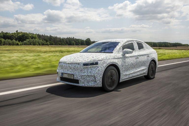 Tällainen coupé-malli tulossa Škoda Enyaqista