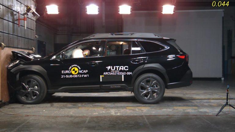 Subarun uudistunut kuljettajaa avustava järjestelmä on ensimmäisenä Outback-mallissa