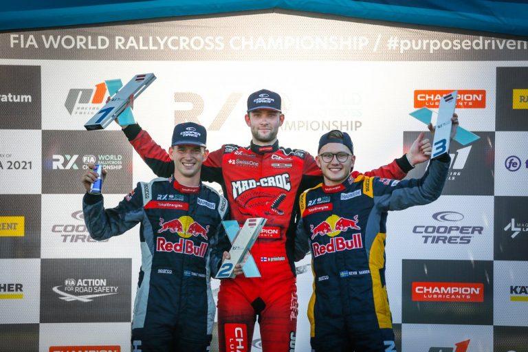 Rallicross: Niclas Grönholm MM-sarjan avausvoittoon Latviassa