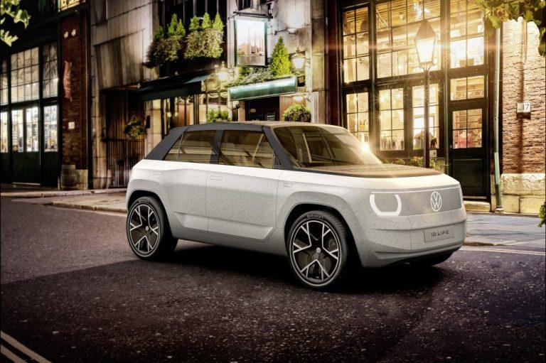 Volkswagen esittelee tulevaisuuden sähköauton
