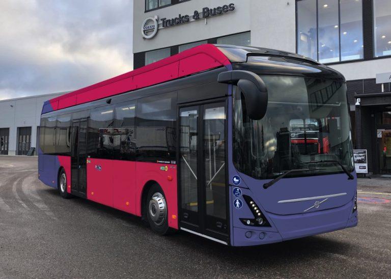 13 uutta sähköbussia Joensuun joukkoliikenteeseen