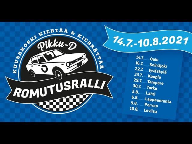 Kuusakoski keräsi yli 1300 rikkinäistä pikkuautoa Romutusralli-kesäkiertueella