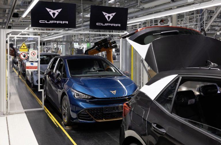 Cupra Born -täyssähköauton sarjatuotanto on alkanut