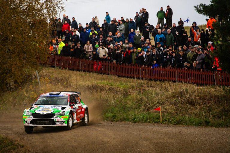 WRC: Suomalaisille voitot MM-rallin WRC2- ja WRC3-luokissa