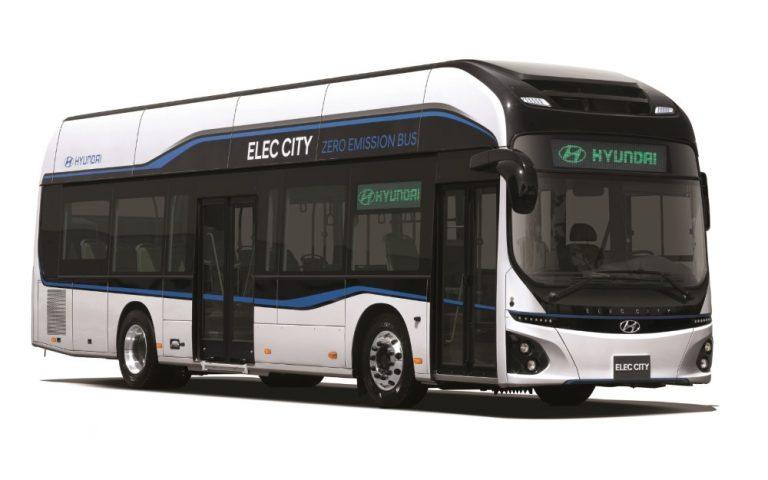 Itävallan suurin kaupunkibussiyhtiö hankkii polttokennobussin