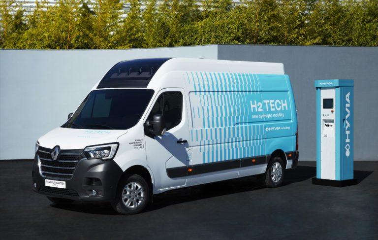 Hyvia Renault Master H2-Tech on vetykäyttöinen pakettiautoprototyyppi