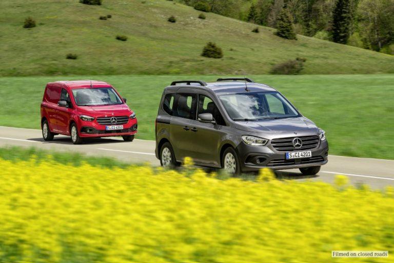 Mercedes-Benzin uusi Citan on aikaisempaa enemmän Mercedes-Benz